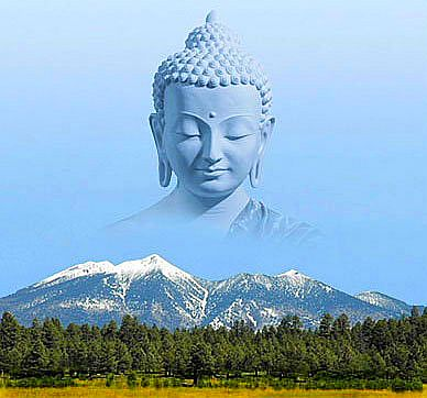 The Buddha and the Mountain