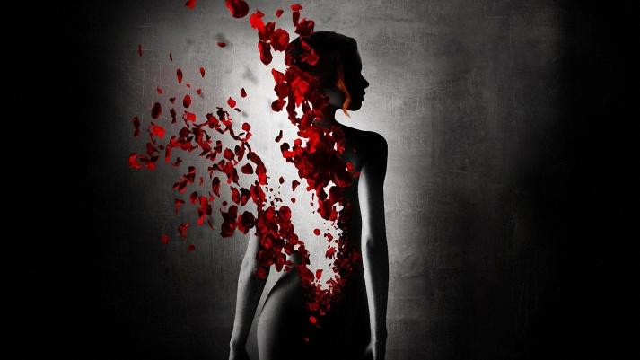 Petals-woman