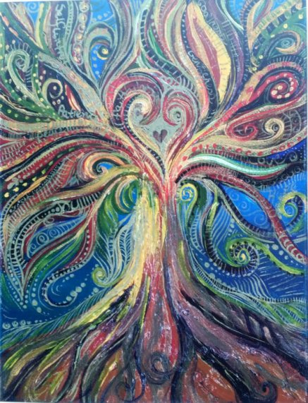 Art: Fruits Of The Spirit Tree - Marina Davidson